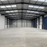 Lancashire Steel Buildings Internal Frame Span Clitheroe