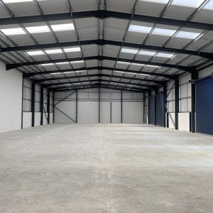 Lancashire Steel Buildings Industrial Unit Internal Span Padiham