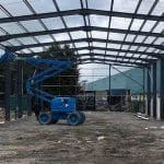 Lancashire Steel Buildings Structural Steelwork MEWP