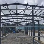 Lancashire Steel Buildings Structural Steel Frame Clitheroe